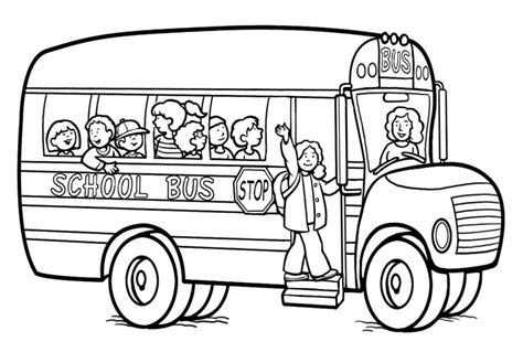 bus safety coloring pages az coloring pages