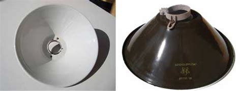 Reflector L Shade by Porcelain Reflector Shades From Ww2 Lighting Barnlightelectric
