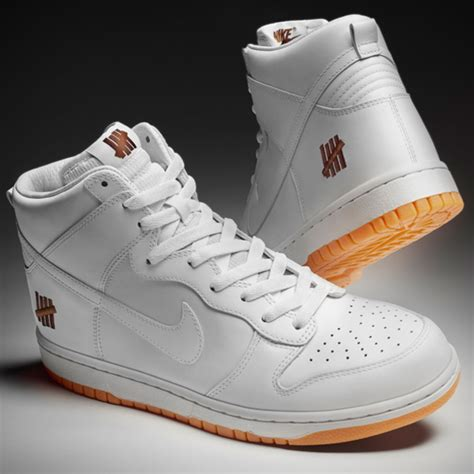 Nike Undefeated undftd x nike dunk high hyperdunk 2012 bring back pack collection release info freshness mag