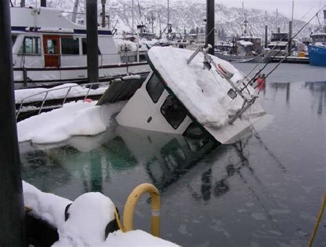 winterizing a boat in the south deck watch coast guard encourages owners to prepare