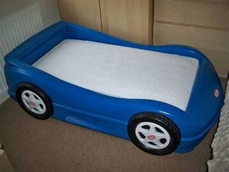 little tikes blue car toddler bed blue little tikes toddler car bed for sale