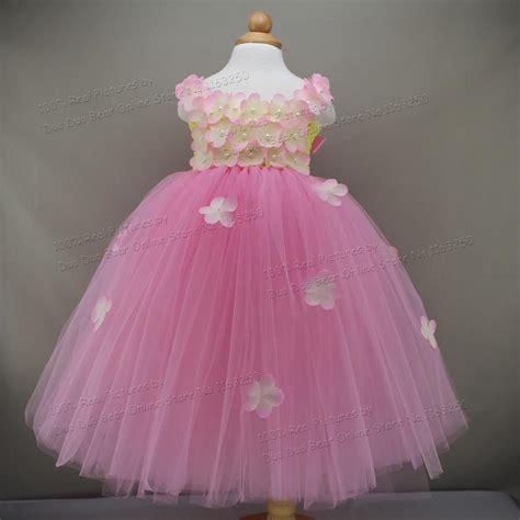 beautiful flower tutu   year girl baby birthday dress