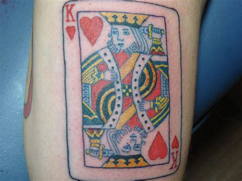 jack of hearts tattoo designs 18 king of hearts tattoos