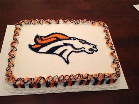 Best 25  Denver broncos cake ideas on Pinterest   Chicago
