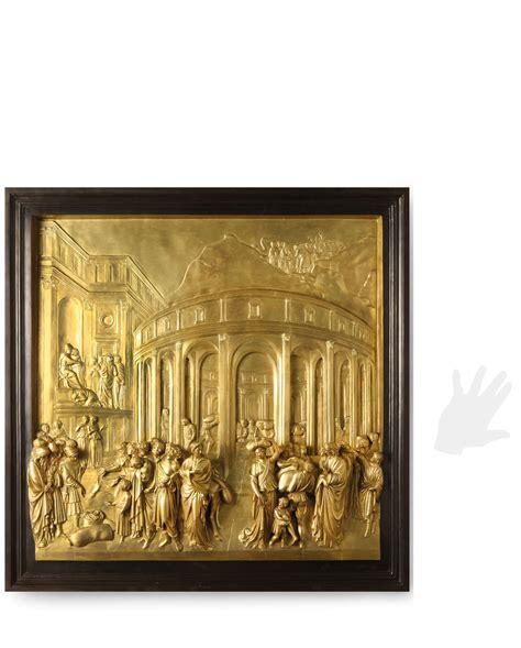 porte paradiso pannello della porta paradiso galleria d arte pietro