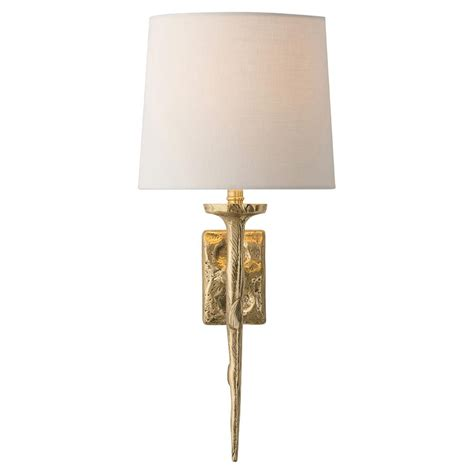 Gold Wall Sconces Jerrion Global Modern Molten Gold Wall Sconce Kathy Kuo Home