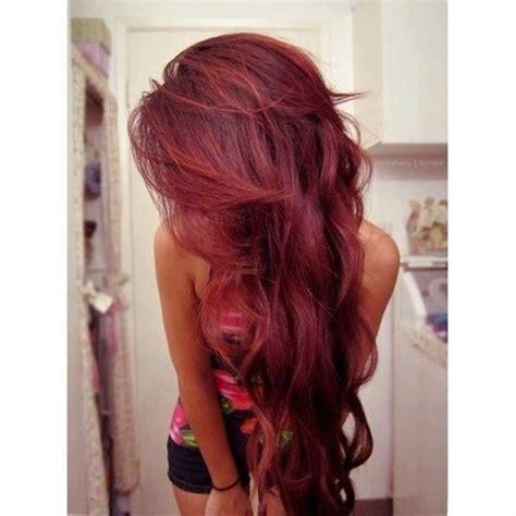 pintrest hair dark red burgundy hair adorable hair affair