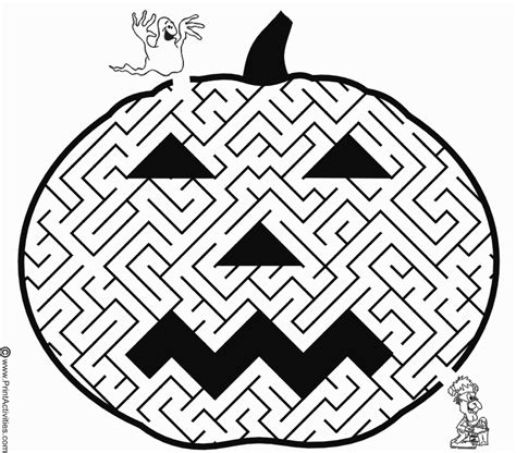 halloween coloring pages mazes i want to be a sunbeam 31 days of halloween