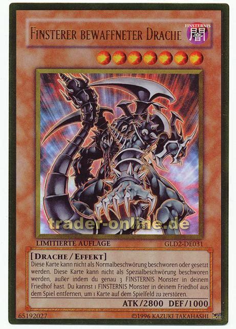 rotäugiger finsterer drache deck finsterer bewaffneter drache trader de magic