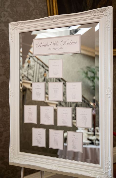 pin  seating chart table plans  escort cards