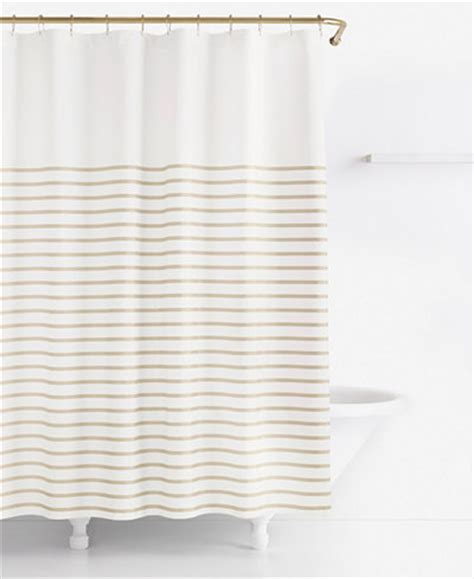 kate spade striped shower curtain kate spade new york harbour stripe shower curtain shower