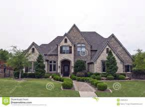 rock homes for luxury brick house stock photo image of exterior