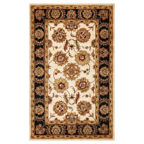 lowes throw rugs shop kas rugs classic simplicity rectangular indoor tufted throw rug at lowes