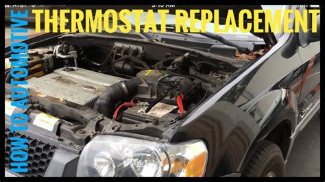 how to replace the thermostat in a 2006 aston martin vanquish s how to replace the thermostat on a 2006 ford escape hybrid youtube