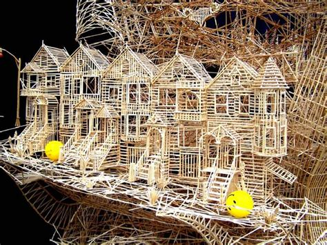 toothpick house 1000 ideas about toothpick sculpture on pinterest