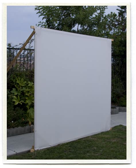 diy backyard movie screen inchmark inchmark journal outdoor movies