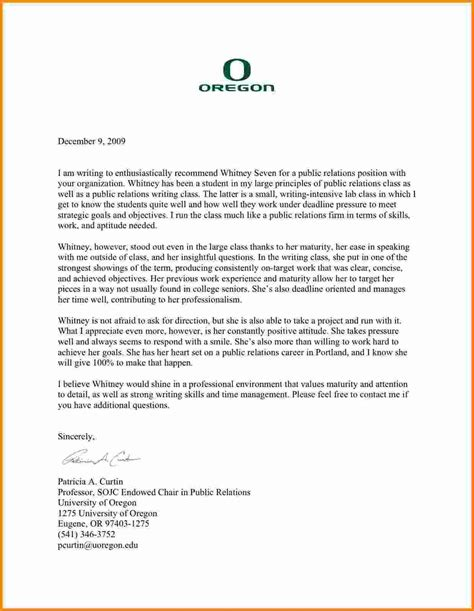 Letter Of Recommendation writing a letter of recommendation for a students going to