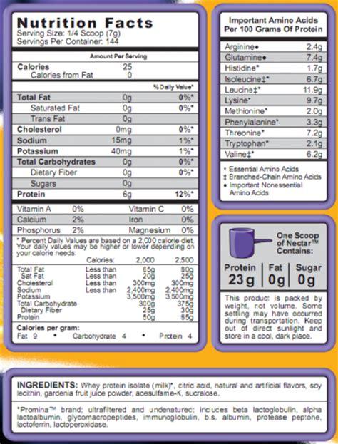 syntrax nectar protein advanced whey protein powder
