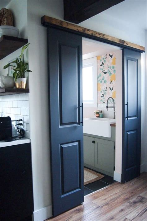 diy double barn doors double sliding doors diy door