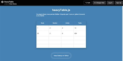 html template for table beautiful html table css