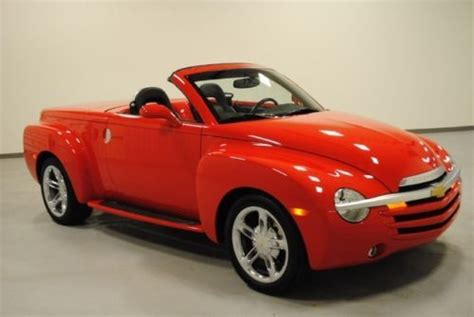 small engine service manuals 2006 chevrolet ssr transmission buy used 2005 2006 chevy red ssr 6 speed manual
