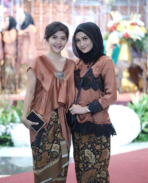 Stelan Kebaya Floy Hijau Pupus batik plus kebaya rok batik plus kebaya t kebaya