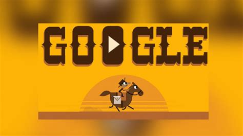 doodle pony express doodle celebrates 155th anniversary of the pony