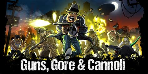 guns gore  cannoli nintendo switch  software games nintendo