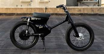 Honda Electric Motorcycle How To Turn The Honda Cub Into An Electric Motorcycle