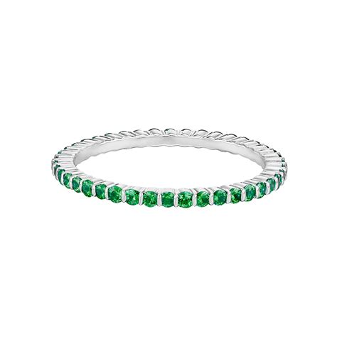thin emerald eternity band betteridge
