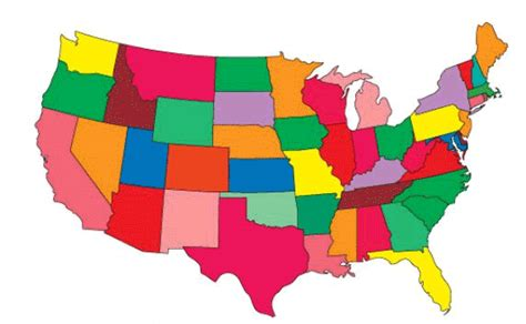 united states map drag and drop us state map