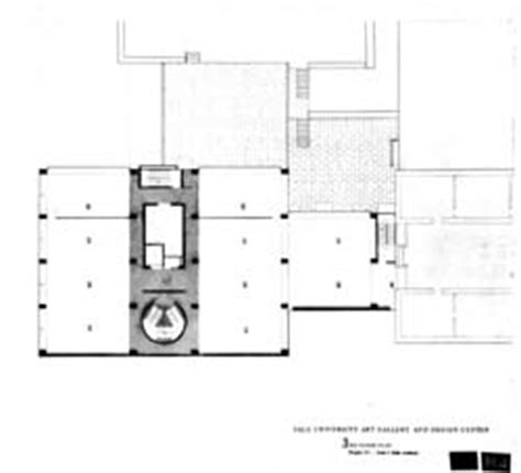 yale gallery floor plan louis i kahn collection architectural archives of pennsylvania philadelphia