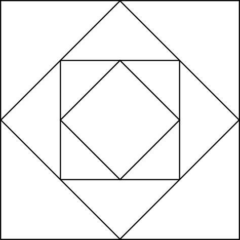 geometric pattern rotation geometric block pattern 9 clipart etc