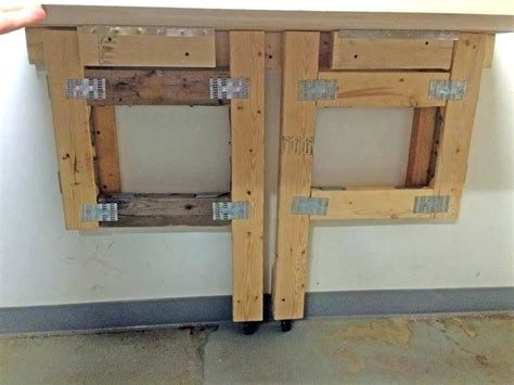 fold up work bench fold up workbench fold away workbench cutting the cable