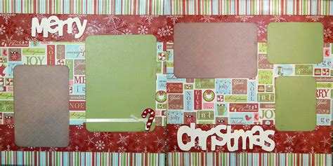 2 page scrapbook layout kits scrapbooking layout christmas 2 page scrapbook kit