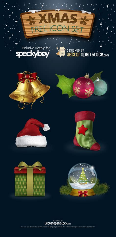 designmantic vector christmas freebies 30 high quality xmas vector graphics