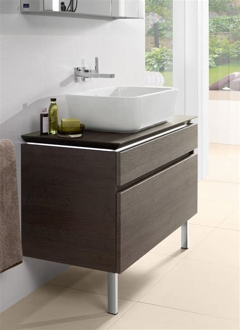 mobile bagno per lavabo da appoggio lavabo e mobile bagno novit 224 viste al cersaie cose di casa