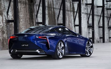 lexus lf lc blue 2012 lexus lf lc blue concept wallpaper car wallpapers