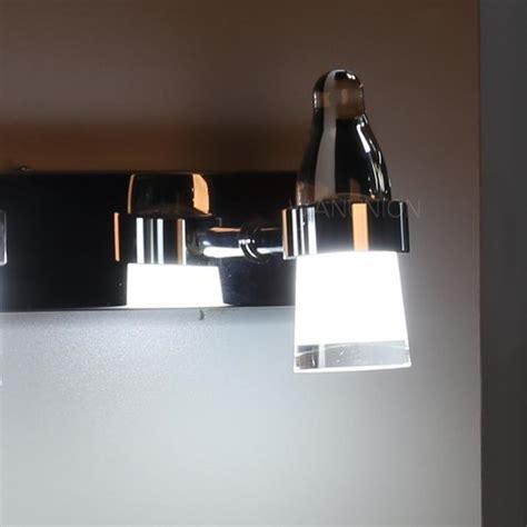led bathroom vanity light fixtures modern led mirror front make up bathroom vanity light wall