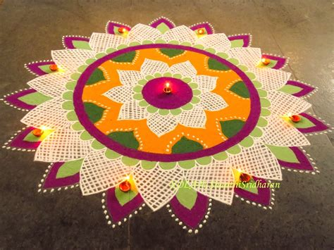 themes for competition simple rangoli designs for competition with themes