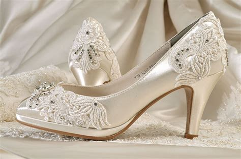 Vintage Schuhe Hochzeit by Womens Wedding Shoes Wedding Shoes Vintage Lace Wedding