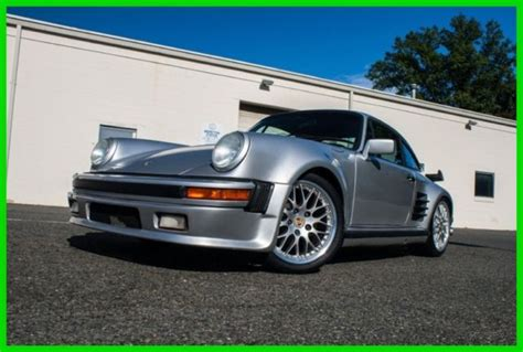 911 Wide Kit by 1973 Porsche 911t Silver Black Wide Kit 2 4