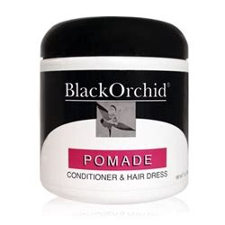 black pomade black orchid hair care collection pomade