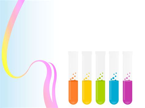 test tubes chemistry powerpoint templates test tubes