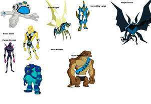 ben 10 characters images