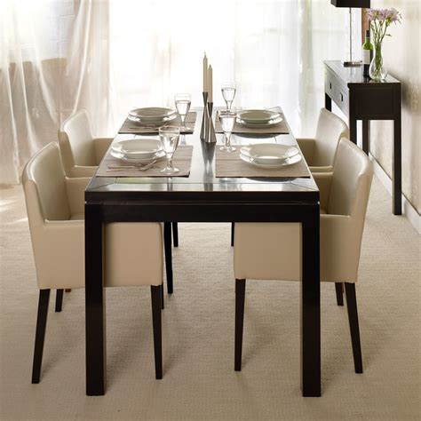 bali black lacquer dining table dining tables