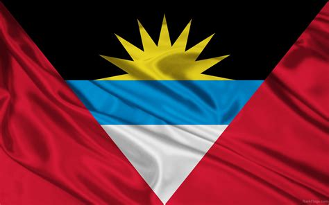 Best Combination Of Colors by Flag Of Antigua And Barbuda A Symbol Of Sea Sun And Sand