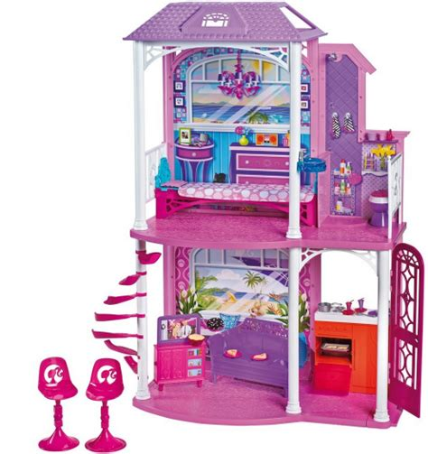 Barbie 2 Story Beach House With Furniture And Accessories Only 20 00 Reg 59 99