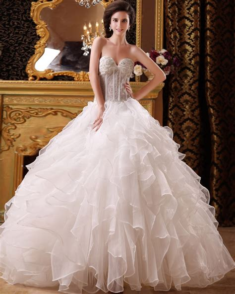 beaded wedding gown beaded gown organza wedding dress with floor