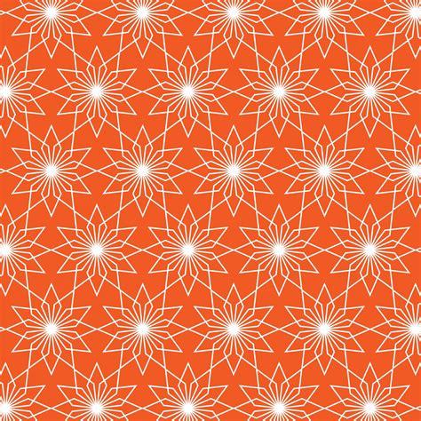 Wallpaper Pattern Orange